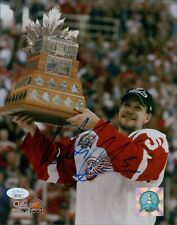 Nicklas Lidstrom Detroit Red Wings Signed 8x10 Glossy Photo JSA Authenticated