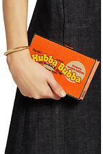 NWT $1450 Anya Hindmarch Imperial Hubba Bubba Python Clutch Purse