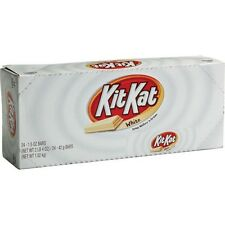 Kit Kat White chocolate Candy Bars 1.5 oz bar 24 ct Super Fresh