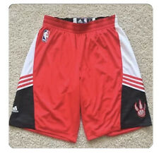 2 x NBA Adidas Authentic TORONTO RAPTORS basketball Practice Shorts 3xl + 2
