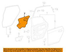 TOYOTA OEM 12-15 Prius Plug-In Rear Door-Water Shield Right 6784147090