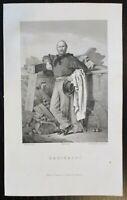 1859 GARIBALDI Giuseppe storia politica militare guerra indipendenza Italia