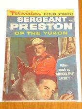 SERGEANT PRESTON OF THE YUKON #5 FN- (5.5) 1950 BRITISH RARE TELEVISION PICTURE*