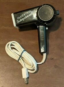 Sunbeam Swing-Aire 1000 - Foldable Travel Hair Blower/Dryer - VINTAGE- TESTED