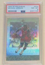 Michael Jordan PSA 8 #PC5 1995 SP Holoviews Chicago Bulls