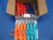 NEW 12 PCS. MULTI COLOR SEWING THREAD NIPPERS   CLIPPERS TRIMMING SCISSORS