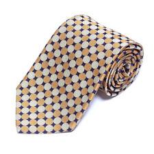 Brooks Brothers Snappy Gold Pewter on Black Polka Dot Pattern Silk Neck Tie