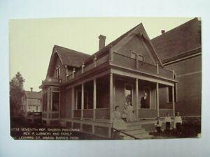 Church Parsonage Rev. F. Lubbers Family W. Leonard St. Grand Rapids Michigan