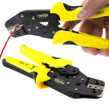 Pro Wire Crimpers Engineering Ratchet Terminal Crimping Pliers Tool 0.14-1.5mm²