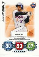 David Wright 2010 Topps Update Series Attax Code card New York Mets
