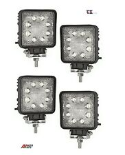 4 x POWERFUL FRONT BULL NUDGE BAR & SPOT SMD LED LIGHTS 12V DAY LAMP CAR SUV 4x4