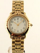 YSL YVES SAINT LAURENT GOLD PLATED WATCH