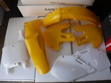POLISPORT REPLICA PLASTIC KIT SUZUKI RM125 RM250 1999 2000 YELLOW  90094