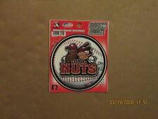 California League Modesto Nuts Vintage 2012 Team Logo Baseball Round Decal