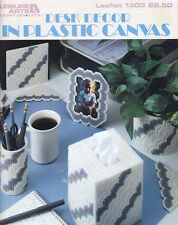 Leisure Arts 1303 Desk Decor In Plastic Canvas - 6 Different Projects