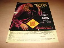 ROBERT PLANT - CONCERT 1993!!!!!!!!!!PUBLICITE / ADVERT