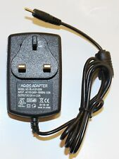 12V x  2A x 2.5mm x 0.8mm Yellow Tip UK 3 Pin Mains Charger for Tablet Pc's New