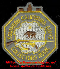 LMH Patch  SOUTHERN CALIFORNIA ARMS COLLECTORS Assn. Gun Firearms Rifle Pistol