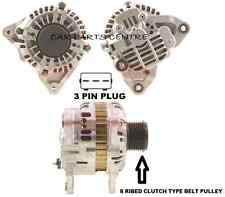 FOR MAZDA 3 6 5 2.0DT TD DIESEL NEW ALTERNATOR WITH 8 RIBBED CLUTCH PULLEY 2004-