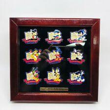 Disney 20th Anniversary of Tokyo Disneyland Framed Pin & Button Set 1983 - 2003