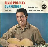Elvis Presley - Surrender EP original 1961 French EP