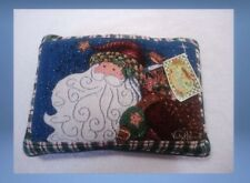 "Vicki Howard Collection Pillow Christmas Santa Tapestry Throw 15 1/2"" x 11"""