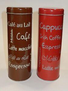 Kaffee-Pad-Dose - Kaffeepaddose - Voratsdosen für Kaffee Pads