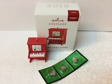 Pint-Sized Piano Hallmark Ornament 2019 Miniature New-Box Music: Deck The Halls