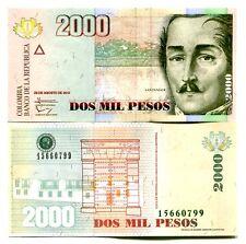 COLOMBIA 2000 PESOS 2013 P-457r UNC