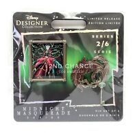 2020 Disney Midnight Masquerade Series Lady Tremaine Pin Set 2/6 Limited Edition