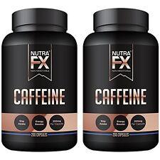 NUTRAFX Caffeine 200 Capsules