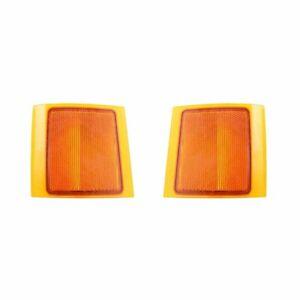 NEW SIDE MARKER LIGHT PAIR FITS CHEVROLET C35 K1500 SUBURBAN 5977460 5977459
