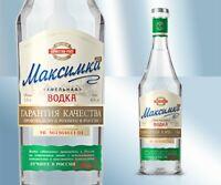 Vodka Maksimka Khmelnaja 38% 500ml Водка Максимка Хмельная Russischer Wodka 3068