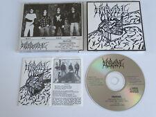TRAVAIL s/t same debut CD 1994 MEGA RARE OOP THRASH ORIGINAL 1st PRESS PRIVATE!!