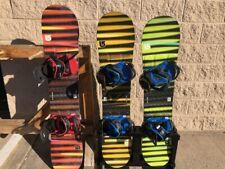 Burton LTR Snowboard with Burton Bindings for Beginners/Intermediates
