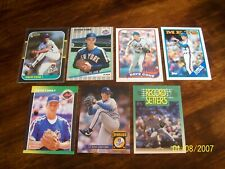 David Cone Lot of 20 Cards NO DUPS! NY Mets Toronto Blue Jays Kansas City Royals