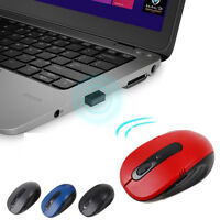 2.4GHz Wireless Mouse Portable Cordless Optical Game Mice With USB Receiver