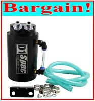 UNIVERSAL OIL CATCH CAN/RADIATOR COLLANT OVERFLOW TANK!