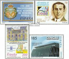 Spain 3541-3544 (complete issue) unmounted mint / never hinged 2000 Science