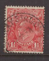 Tasmania ROSEBERRY STATION postmark on KGV rated 2R by Hardinge
