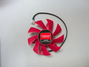 75mm Video Card Fan 4 Pin Power Logic FD8015U12S (PLA08015S12HH) 47mm mount USA