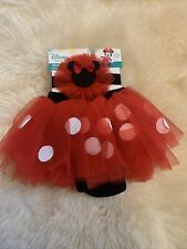New listing Disney Baby Minnie Mouse Dress Up Set 0-12months / Cake Smash Outfit