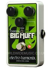 EHX Electro Harmonix NANO BASS BIG MANICOTTO del SUSTAINER Distorsione per Chitarra pedale