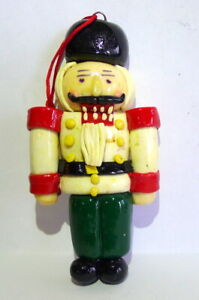Grandeur Noel ornament clay dough 1990s Christmas Toy Soldier Vintage