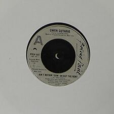 """GWEN GUTHRIE 'AIN'T NOTHIN' GOIN' ON BUT THE RENT' UK 7"""" SINGLE"""