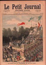 Le Char de la Concorde d'Auguste Rubé et Philippe Chaperon 1892 ILLUSTRATION