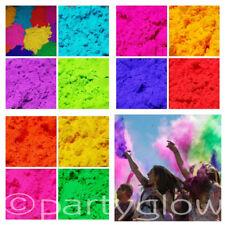 12 x 250g POUCHES Holi Powder Colour Run Festival Throwing Powder Paint Parties