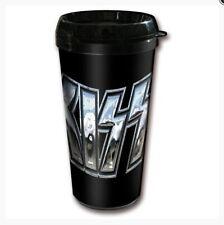 Kiss Logo Travel Mug Becher Kaffeebecher Souvenir Tasse off. Lizenz