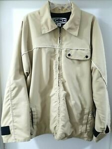 SRH Vintage Winter Snow Jacket Coat Tan Mens Large Rare