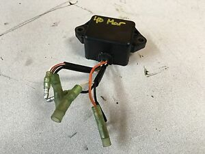 80 's Mariner 40 HP 2 Stroke Outboard Engine CDI Unit Box Freshwater MN